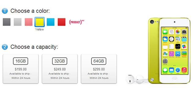 Apple 16 GB iPod touch'a kamera ve yeni renk seçenekleri ekledi