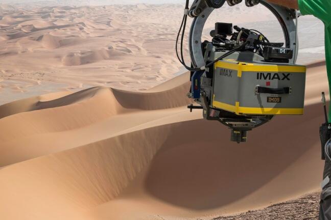 Yeni Star Wars filminin çekimlerinde IMAX formatı da kullanılıyor