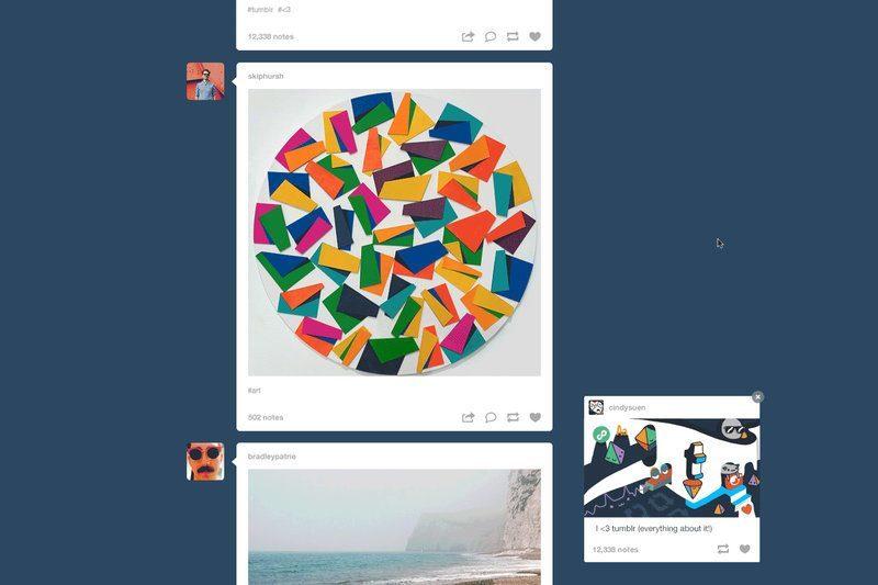 Tumblr videoları GIF animasyonlarına benzer biçimde gösterecek
