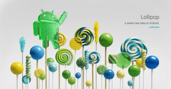Android Lollipop AOSP'ye gönderildi, güncellemeler için başlangıç verildi