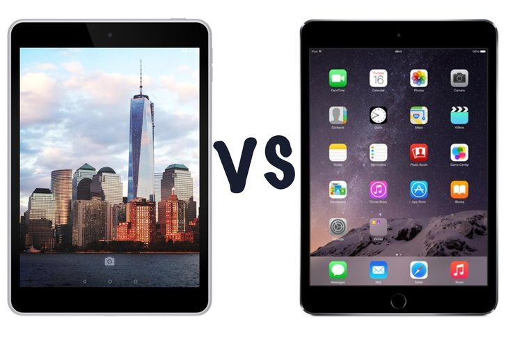Nokia N1 ve Apple iPad mini 3 karşı karşıya