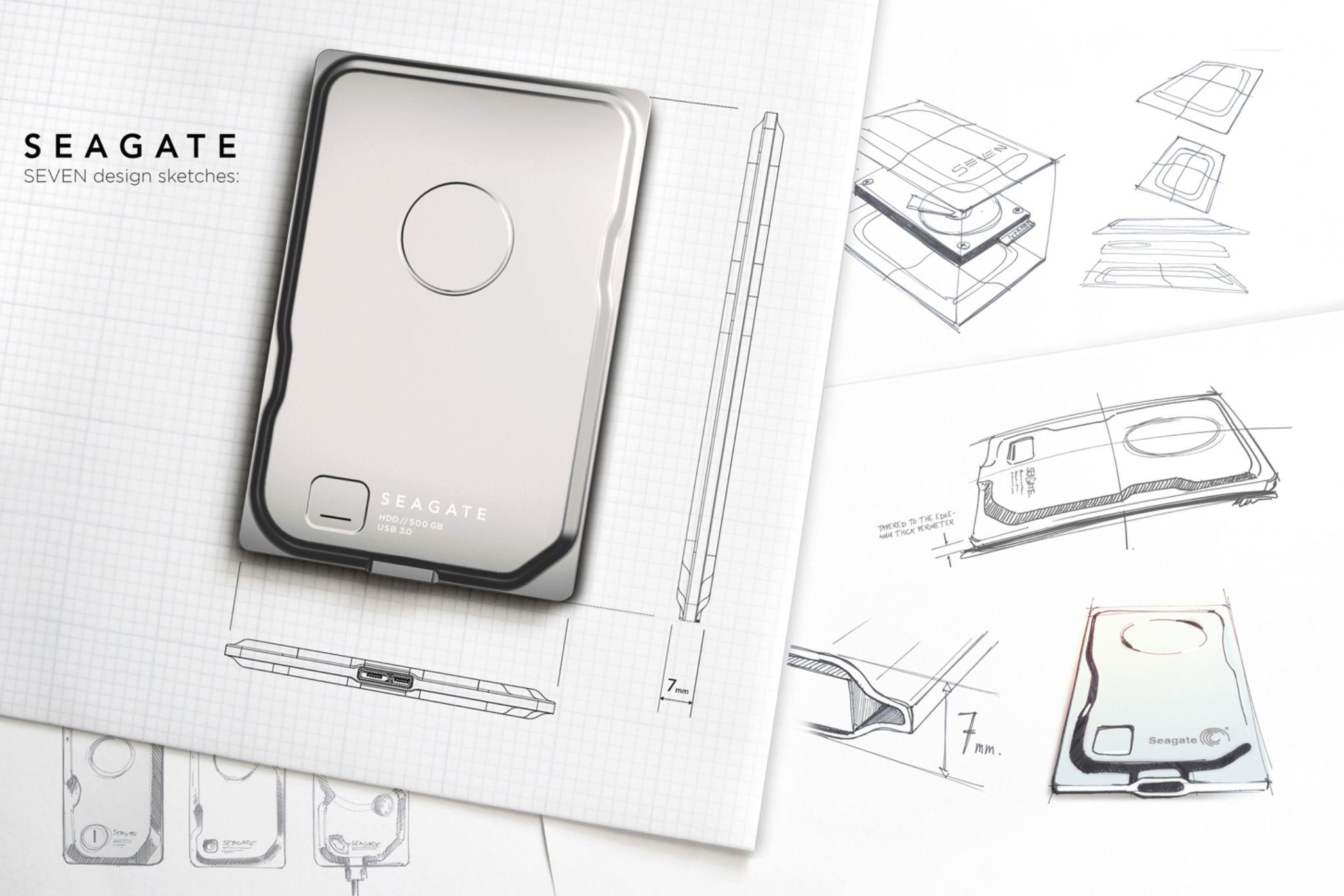 Seagate Seven dünyanın en ince 500 GB taşınabilir sabit diski