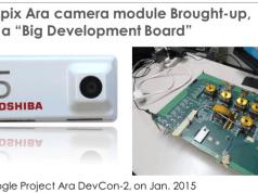 Toshiba Project Ara için ilk kamera modülünü üretti