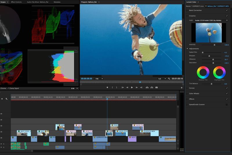 Как сделать затемнение в конце видео в premiere - Urbiznes.ru