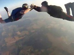 Video: 3 bin metre yükseklikten düşen GoPro'nun çektiği görüntüyü izleyin