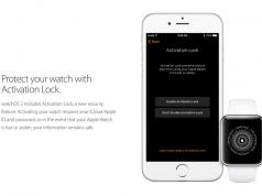 Apple Aktivasyon Kilidi ile Watch'u çalmayı zorlaştıracak