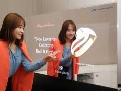 Samsung'un şeffaf ve aynalı ekranları optik illüzyon etkisi yaratıyor