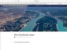 Facebook sizden bloglamanızı istiyor