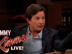 Video: Michael J. Fox bağcıkları otomatik olarak bağlanan Nike Air Mag ile Jimmy Kimmel Live'a katıldı