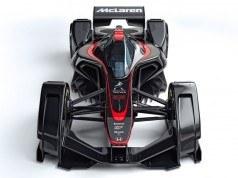 McLaren MP4-X geleceğin F1 otomobilinin nasıl olacağını gösteriyor