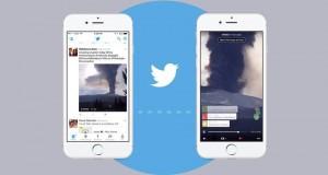 Periscope yayınları Twitter Anları'nın içinde izlenebilecek