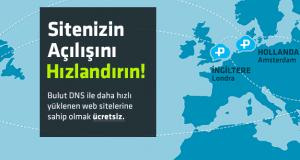 PlusClouds Bulut DNS ile web siteleriniz şimdi daha hızlı açılacak