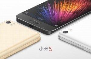Xiaomi Mi 5 tanıtıldı: Qualcomm Snapdragon 820 işlemci, 4 GB RAM