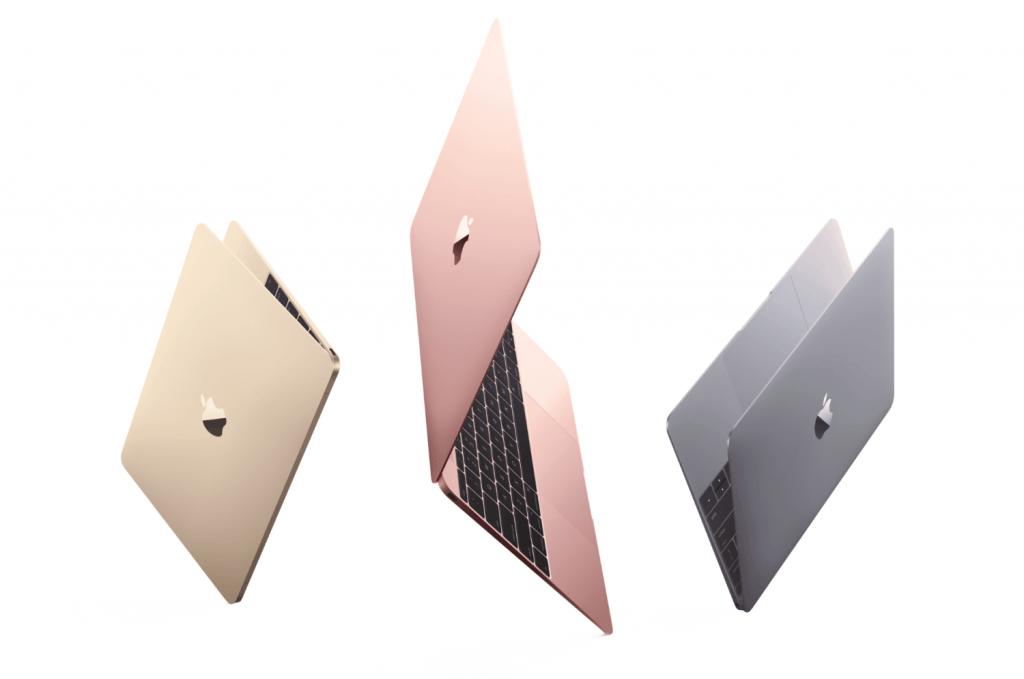 apple macbook 12 inc roze altin