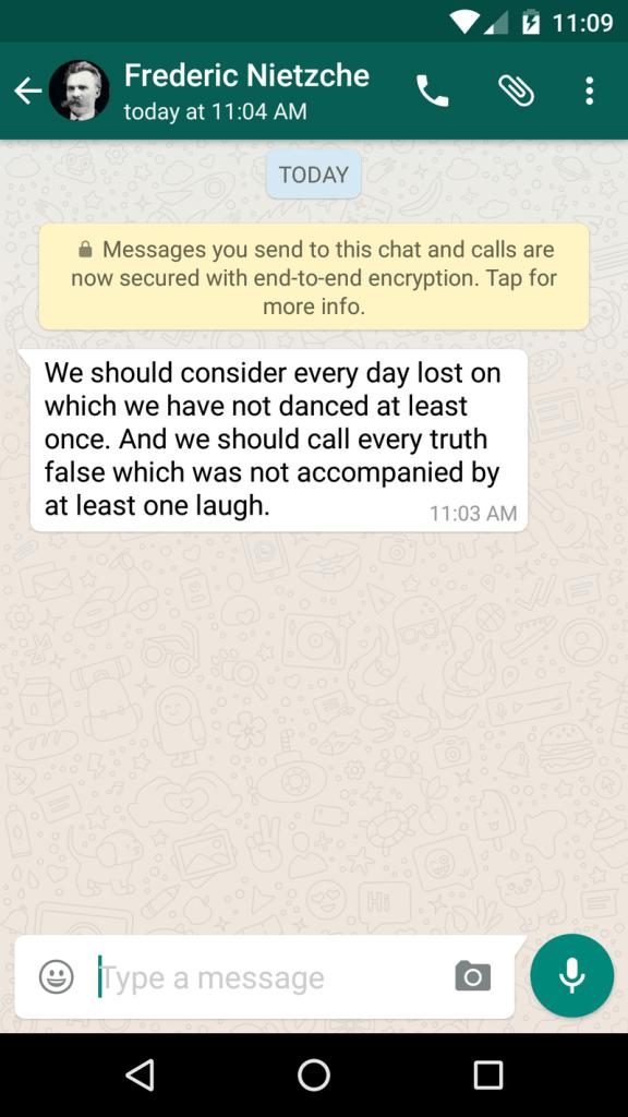 whatsapp uctan uca sifreleme