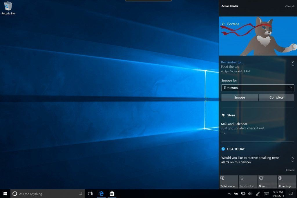 windows 10 on izleme