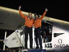 Solar Impulse 2 dünya turunu sadece güneş enerjisi kullanarak tamamladı