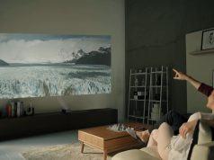 LG projektör pille çalışıyor, 80 inç görüntü üretiyor
