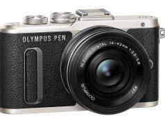 Olympus Pen E-PL8 Pen Lite kameralarının en şık görünümlüsü