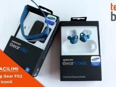 Video: Samsung Gear Fit 2 ve Gear IconX Kutusundan Çıkıyor