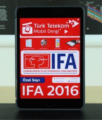 Türk Telekom Mobil Dergi'den IFA 2016 özel sayısı