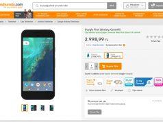 Google Pixel Hepsiburada üzerinde Türkiye'de satılıyor