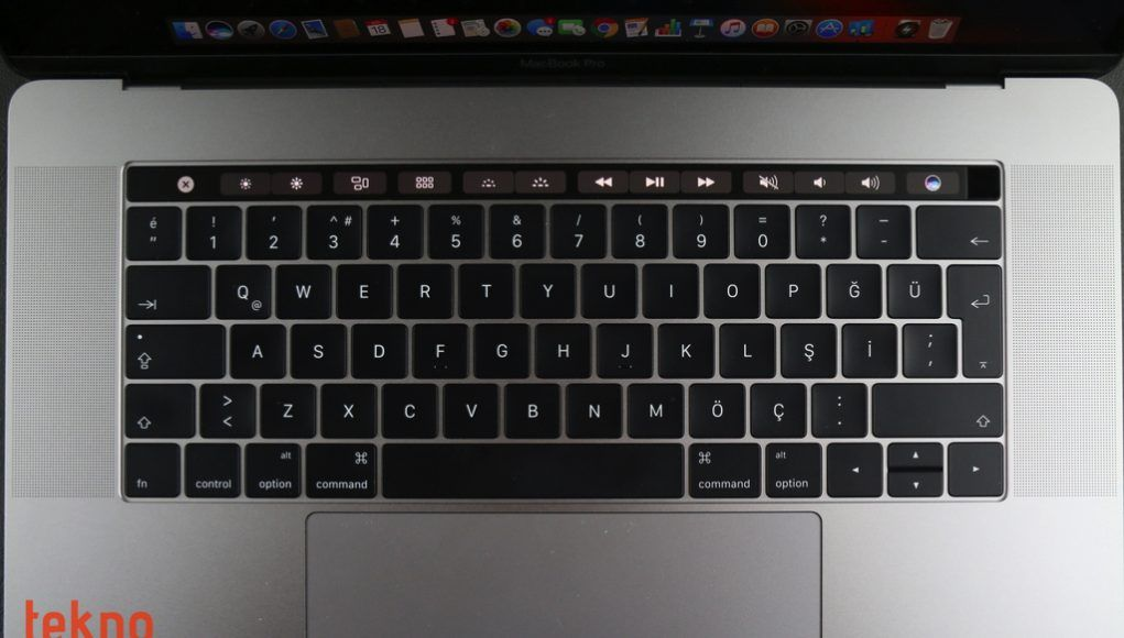MacBook Pro Touch Bar inceleme