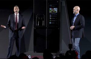 LG webOS işletim sistemli akıllı buzdolabını tanıttı