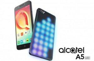 Alcatel A5 LED ile akıllı telefon portföyünü renklendiriyor