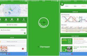 Citymapper: Ulaşımda tüm seçenekleri görmenin hızlı yolu