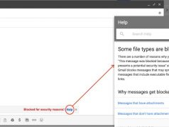 Gmail JavaScript dosya eklerini engelleyecek