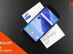 Video: Samsung Galaxy A7 (2017) Kutusundan Çıkıyor (Ön İnceleme)