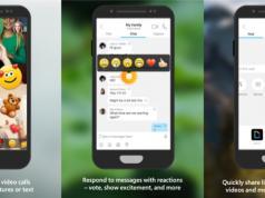 Skype mobil uygulaması için video sohbetlerde emojiler test ediliyor