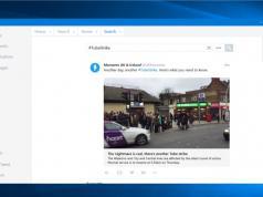 Twitter Windows 10 uygulaması yeni yüzüyle TweetDeck'i hatırlatıyor
