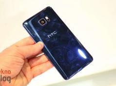 HTC U12+'ın renk seçenekleri ortaya çıktı