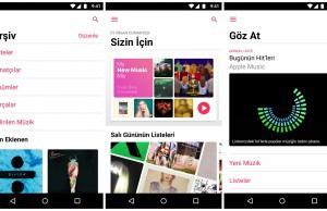 Apple Music Android uygulaması şimdi iOS uygulamasına daha fazla benziyor