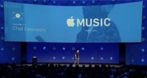 Facebook Messenger Apple Music eklentisine kavuşuyor