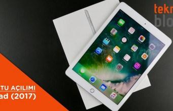 Video: iPad (2017) Kutusundan Çıkıyor