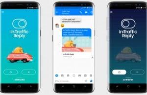 Samsung In-Traffic Reply ile direksiyon başında dikkatin dağılmasını önlemeyi amaçlıyor