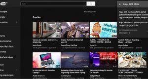YouTube koyu renk modu nasıl etkinleştirilir?