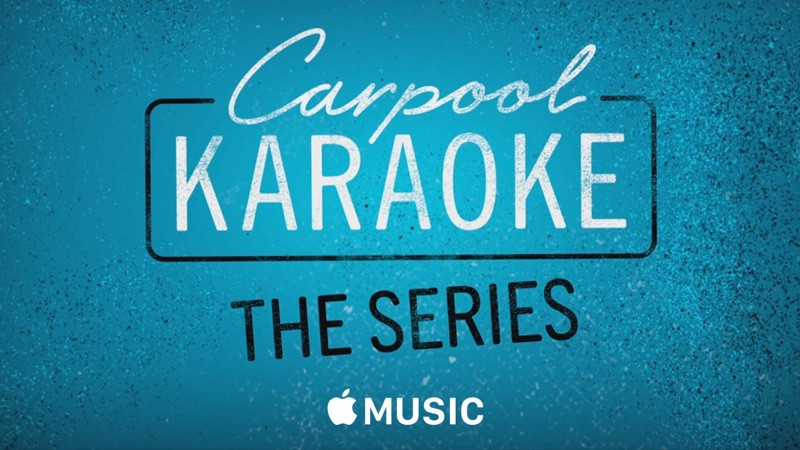 carpool karaoke apple music