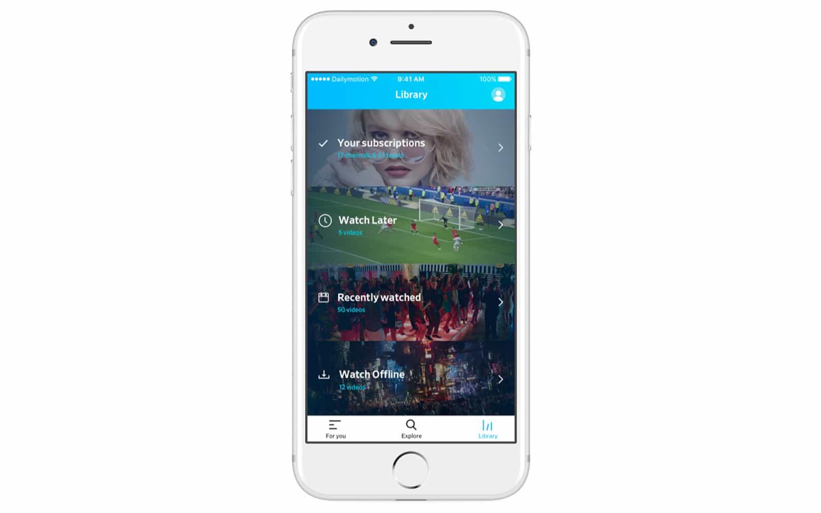 Dailymotion yeni tasarımla yüksek kaliteli video içeriklerine odaklanacak