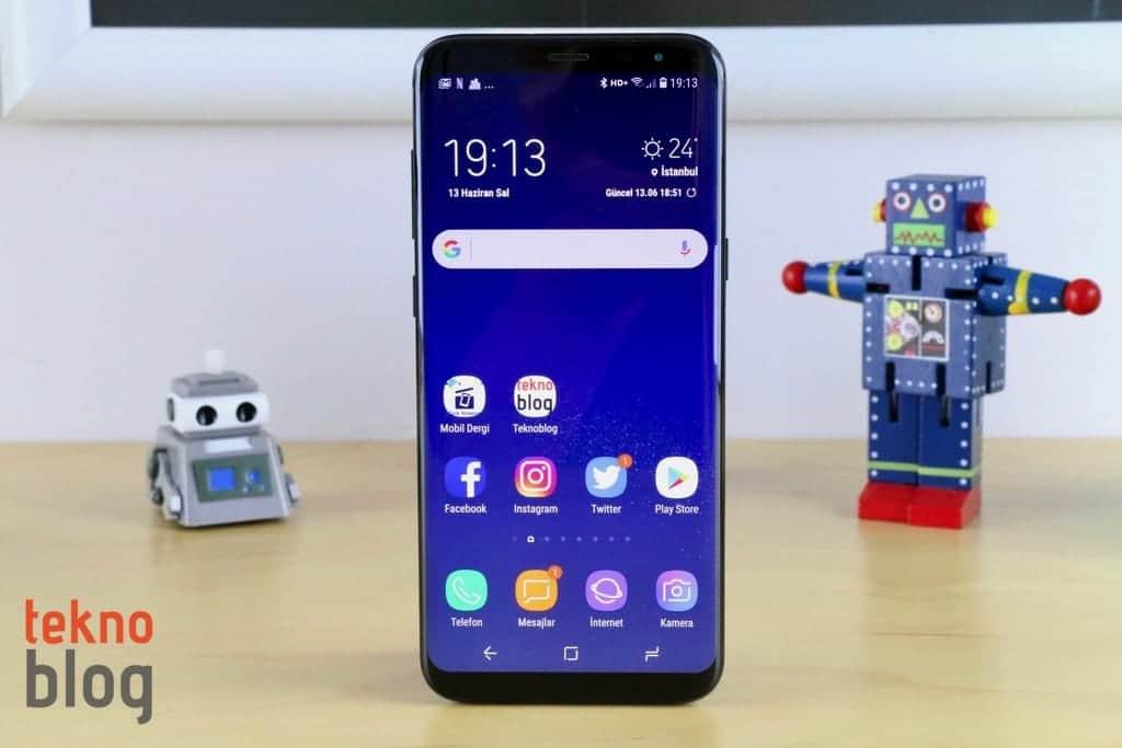 Galaxy S8 ve Galaxy S8+ için büyük bir güncelleme yayınlandı