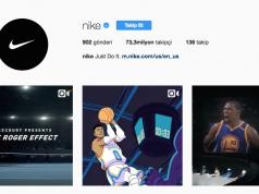 Nike Instagram üzerinden ürün satmaya başlayacak