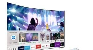 2017 model Samsung Smart TV'ler çalan şarkıları Shazam ile tanıyacak