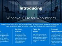 İş istasyonlarına özel Windows 10 Pro sürümü geliyor