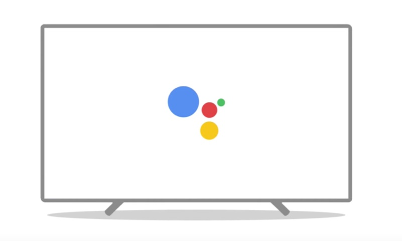 google assistant android tv