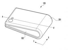 Samsung katlanabilir telefon konsepti için yeni bir tasarım daha hazırladı