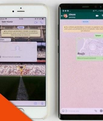 WhatsApp'ta mevcut konum paylaşımı nasıl yapılır? – Video