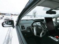 Yandex sürücüsüz otomobil teknolojisini kış koşullarında test ediyor